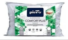 Almohada de fibra PIERO COMFORT PLUS SUAVE. 80 x 50 cm.