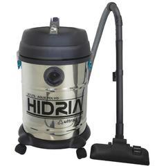 Aspiradora tambor 34 lts. ULTRACOMB AS-4314 HIDRIA. Inoxidable. Apta para polvo y líquidos. 1400W