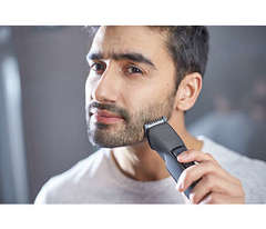 Corta barba inalámbrico PHILIPS BT1209/15. Batería recargable.