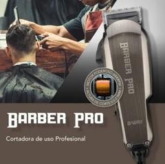 Corta cabellos profesional B-WAY BW1102 BARBER PRO. Set de 13 piezas. 6000 R.P.M.