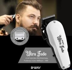 Corta cabellos profesional B-WAY BW1222 ULTRA FADE. Set de 13 piezas. 6000 R.P.M.