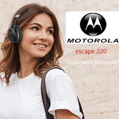 Auriculares inalámbricos con Bluetooth MOTOROLA ESCAPE 220 HD SOUND.  Manos libres.