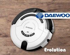 Aspiradora Robot inteligente 400 ml. DAEWOO DW-AR500 EVOLUTION. Aspira / Barre / Trapea.