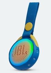 Parlante portátil inalámbrico JBL JR POP. Bluetooth. Resistente al agua.
