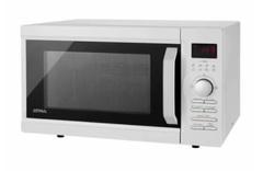 Microondas 28 lts. digital ATMA MD1728GN. Blanco. Con grill. 900W