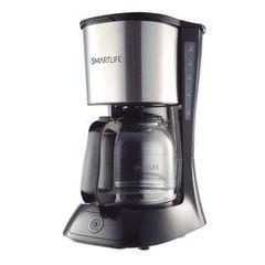 Cafetera eléctrica de filtro 1,5 lts. SMARTLIFE SL-CM9402. 980W