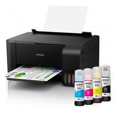 Impresora multifunción EPSON L3110 Eco Tank. Imprime, copia y escanea.