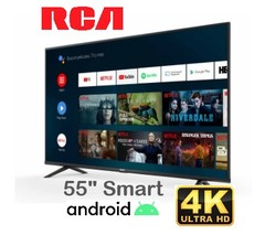 "Led 55"" 4K RCA AND55FXUHD. Bluetooth. Smart TV con Android"