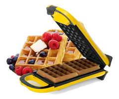 Wafflera eléctrica ATMA WA8110N CANDY BAR capacidad 2 waffles
