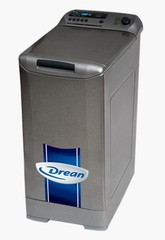 Lavarropas carga superior 8 Kgs. DREAN DESIGN GOLD 10.8 SI.  Platinum. 1000 RPM. EE A++