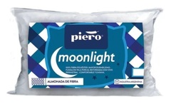 Almohada de fibra PIERO MOONLIGHT. 80 x 40 cm.