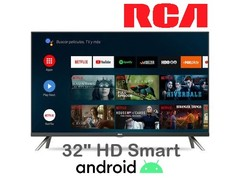 """Led 32"""" RCA AND32Y. HD. Bluetooth. Smart TV con Android"""