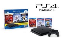 Play Station 4  Sony CUH-2215B MEGA PACK 15. 1 TB. Dual Shock 4. Con 3 juegos.