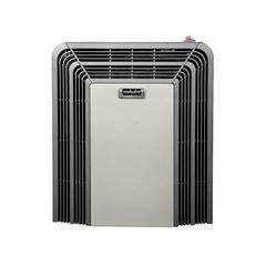 Calefactor a gas 3000 Kcal/H. tiro balanceado ESKABE TITANIO TT TB3 E. Con encendido electrónico y aromatizador. Multigás.