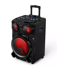 "Parlante inalámbrico 12"" PHILIPS TAX3305/77. Bluetooth. USB. Luces led. Karaoke. 100W"