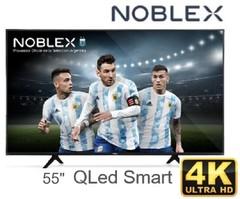 "LED 55"" QLED 4K NOBLEX DK55X9500 BLACK SERIES. UHD. Smart TV"