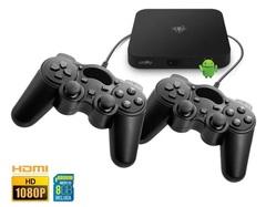 Consola 2 en 1 LEVEL UP RETRO PLAY LT. Android TV + Multi emuladora de juegos. 2300 juegos incluídos.