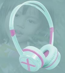 Auriculares inalámbricos kids X-VIEW HP-K20. Especial para niños. Bluetooth. Batería recargable.