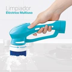 Limpiador eléctrico multiuso SMART TEK ES-1216. Inalámbrico. Batería recargable.