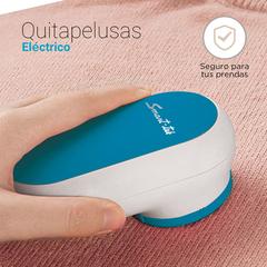 Removedor de pelusas de tejidos eléctrico SMART TEK GP-1214 PRESTO. Batería recargable