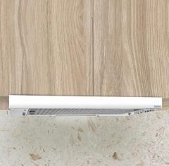 Campana de cocina 60 cm. LLANOS EXTENSIBLE 33181. Blanca. Bajo alacena.