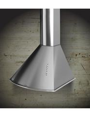 Campana de cocina 60 cm. LLANOS ANTIQUE 3264 Acero Inoxidable.
