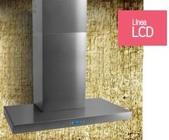Campana de cocina 60 cm. LLANOS PREMIUM LCD 25260. Acero inoxidable. Contrapared.