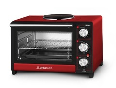 Horno eléctrico 28 lts. ULTRACOMB UC-28A. Con anafe superior.  2500W