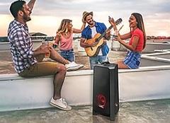 Sistema de audio SAMSUNG MX-T50/ZB SOUND TOWER. Sonido bidireccional. Bluetooth. 500W