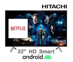 "Led 32"" HITACHI CDH-LE32SMART19. HD. Smart TV.  Android"