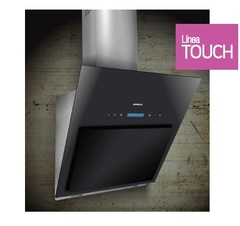 Campana de cocina 60 cm. LLANOS INNIXIA TOUCH 29960 Cristal negro. Control remoto.