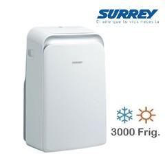Aire acondicionado portátil SURREY UNO 551IPQ1201 3000 Frig.  Frío/Calor
