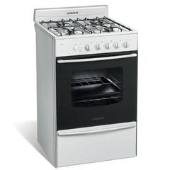 Cocina 56 cm. Multigas Longvie 13331B 4 Hornallas  Blanca