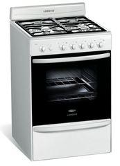 Cocina Multigas Longvie 18501B 4 Hornallas 56 cm blanca