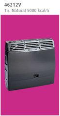 Calefactor Volcan 46212V Tiro Natural 5000 Kcal/h Gris
