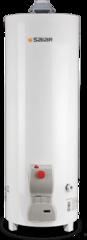 TERMOTANQUE A GAS 120 LTS. DE PIE SAIAR TPG120 BLANCO, CONEXIÓN SUPERIOR. MULTIGAS
