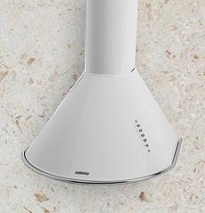 Campana de Cocina 60cm Llanos Circular Pulsante Blanca 24870