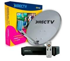 Kit prepago DIRECT TV. Antena de 60 cm. HD.