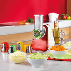 Multirallador eléctrico de alimentos Moulinex DJ755GAR FRESH EXPRESS 200W