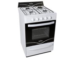 Cocina 56CM blanca autolimp. EE A Multigas Siger 5516A
