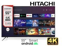 """Led 55"""" 4K Ultra HD HITACHI CDH-LE554kSMART22. Smart TV con ANDROID"""