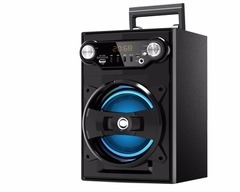 "Parlante portatil 6.5"" recargable EXCESS EXC-800. Bluetooth. FM. Karaoke"