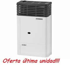 Calefactor a gas Ormay tiro balanceado 5000 Kcal. Europeo para GAS ENVASADO