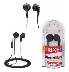 Auriculares Clip-Ear Maxell EB-95 Buds Stéreo para celulares, tablets, MP3