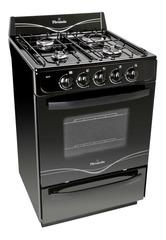 Cocina a gas 56 cm. SINGER FLORENCIA 5517F Multigás Negra