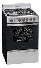 Cocina 56 cm. LONGVIE 19501X Inoxidable Multigás con encendido / luz / timer / grill