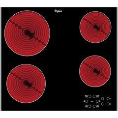 Anafe eléctrico VITROCERAMICO de empotrar  4 zonas WHIRLPOOL AKT8090L