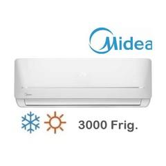 Aire acondicionado split 3000 Frig. MIDEA MSABFC-12H-01F. Frío / Calor. EE A