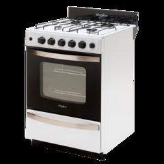 Cocina 56 cm. WHIRLPOOL WFB57DW Blanca Encendido / Timer Multigás