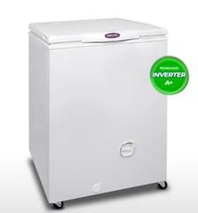 Freezer horizontal 135 lts. Inverter INELRO FIH130A+. Blanco. EE A+